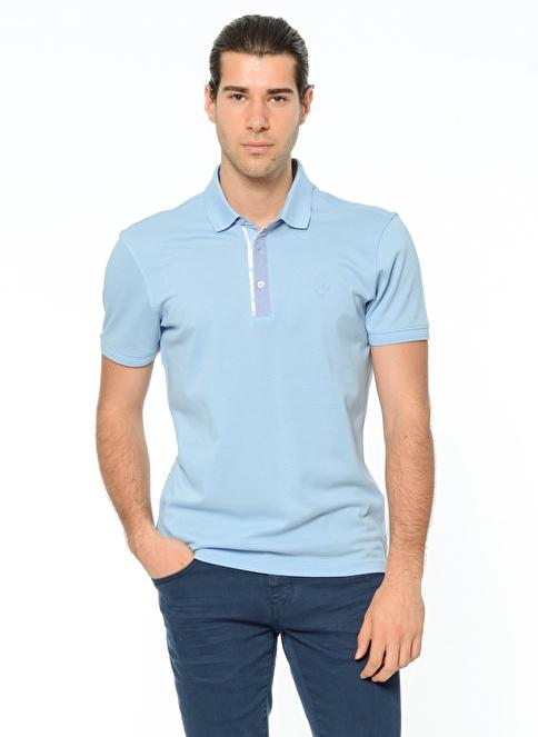 Beymen Business Polo Yaka Tişört Mavi